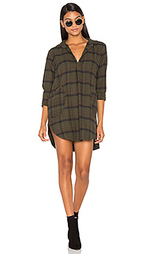 Teton flannel button up dress - CP SHADES