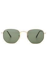 Солнцезащитные очки с 6-угольными плоскими линзами - Ray-Ban