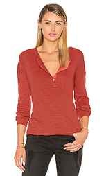 Stripes rib henley - SUNDRY