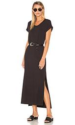 Long roll sleeve dress - SUNDRY