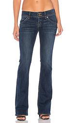 Джинсы с узким клешем signature - Hudson Jeans