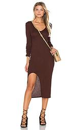 Платье из ткани в рубчик autumn - twenty