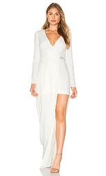 Вечернее платье с v-образным вырезом - Halston Heritage