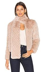 Куртка из меха кролика sela - Joie