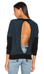 Oliver split back sweater - LA Made