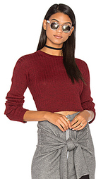 Rib cropped sweater - Frankie