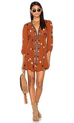Платье с вышивкой star gazzer - Free People