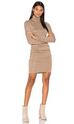 Платье с воротником-водолазка luxe - twenty