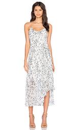 Платье миди printed slip - OLCAY GULSEN