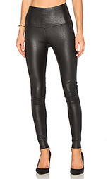 High waisted leather legging - MLML