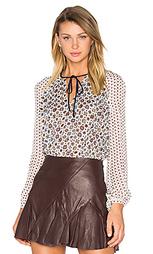 Peplum tie blouse - DEREK LAM 10 CROSBY