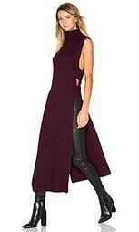 Sleeveless turtleneck midi dress - McQ Alexander McQueen