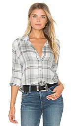 Whitehaven flannel plaid halle shirt - Bella Dahl