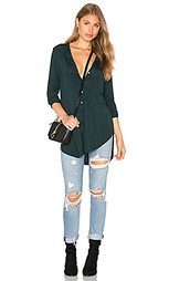 Long sleeve tunic henley top - Michael Stars
