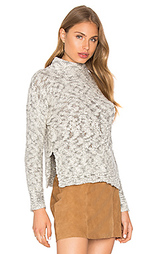 Cabled turtleneck pullover - Michael Stars