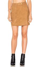 Трапециевидная мини юбка - Michael Stars