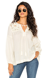 Long sleeve tied neck blouse - STELLA FOREST