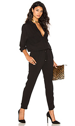 Collared long sleeve jumpsuit - STELLA FOREST