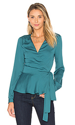 The long sleeve wrap blouse - LAcademie