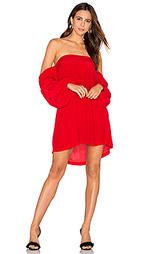 Платье с открытыми плечами pillar - MLM Label