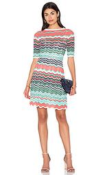 Приталенное и расклешенное мини платье - M Missoni