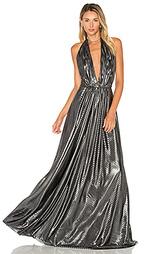Вечернее платье с глубоким v-образным вырезом - JILL JILL STUART