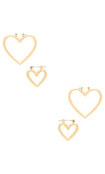 The heart hoops set - Luv AJ