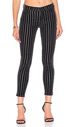Укороченные облегающие джинсы средней посадки nico - Hudson Jeans