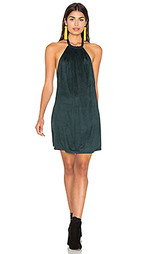 Suede halter dress - Bishop + Young