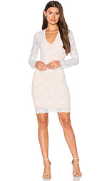 Wisteria lace deep v dress - Nightcap