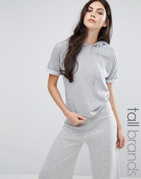 Футболка-худи Missguided Tall - Черный