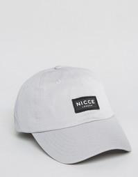 Бейсболка Nicce - Серый