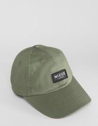 Зеленая бейсболка Nicce - Зеленый