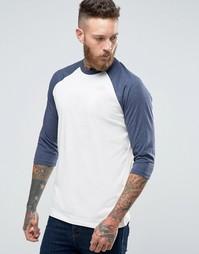 Эксклюзивная футболка с рукавами реглан 3/4 The North Face - Белый