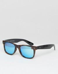 Солнцезащитные очки с зеркальными стеклами Toyshades - Коричневый
