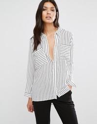 Рубашка в полоску Y.A.S Fast - Мульти