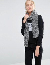 Длинный шарф Cheap Monday - Серый