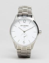 Наручные часы с браслетом Ben Sherman Spitalfields Professional WM003WM - Серебряный
