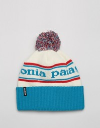 Синяя шапка-бини Patagonia Powder Town - Синий