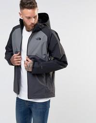 Серая куртка The North Face Stratos - Серый