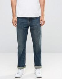 Темно-синие свободные джинсы ASOS - Синий