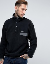 Patagonia Snap T Fleece In Black - Черный