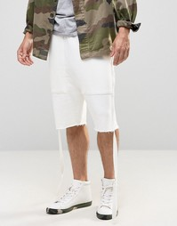 Granted Sweat Shorts With Straps - Stone