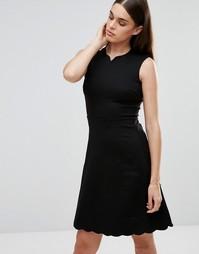 Приталенное платье Darling - Черный