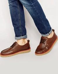 Палубные туфли Firetrap New England - Коричневый