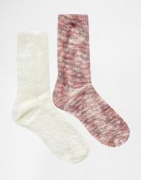 Набор из двух пар женских носков Totes - Розовый