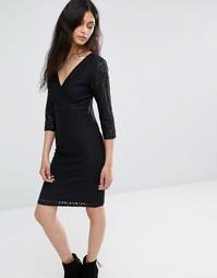 Кружевное платье Blend She Topsy - Черный