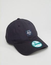 Регулируемая кепка с логотипом New Era 9Forty - Черный