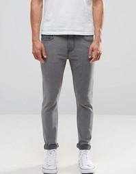 Облегающие джинсы Troy - Серый