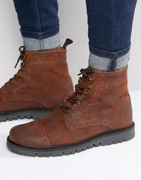 Походные ботинки на шнуровке Walk London Trail Hiker - Рыжий